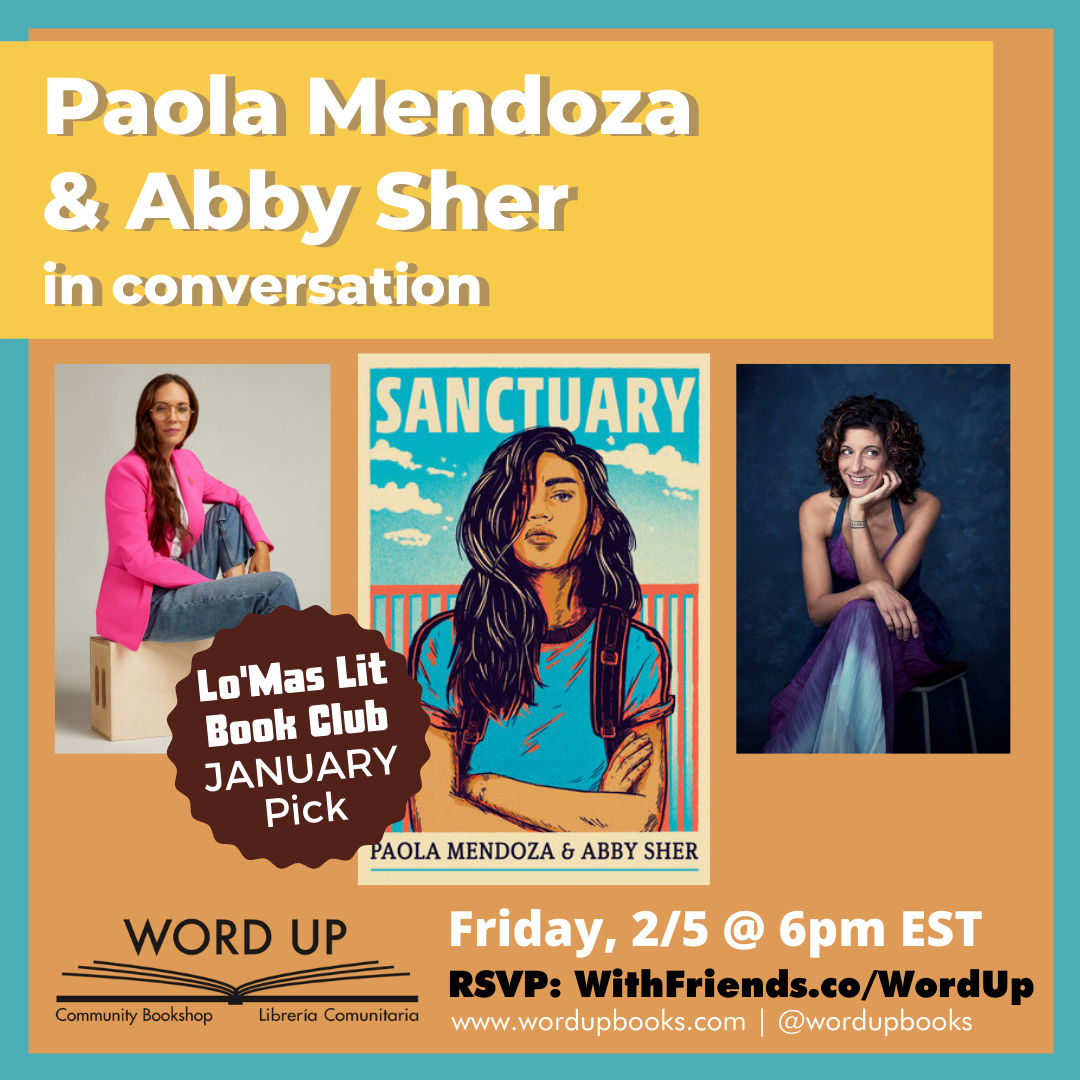 Paola Mendoza & Abby Sher in Conversation event