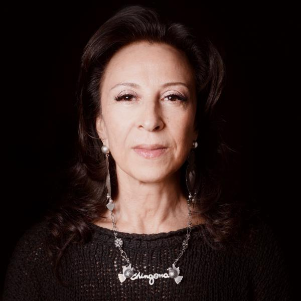Maria Hinojosa - Photograph by Kevin Abosch
